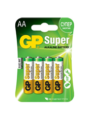 Батарейки AA GP Super Alkaline (4 шт.)