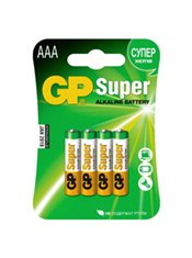 Батарейки AAA GP Super Alkaline (4 шт.)