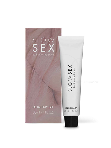 Slow Sex Anal Play Gel