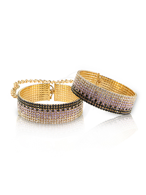 Rianne S Diamond Cuffs Liz